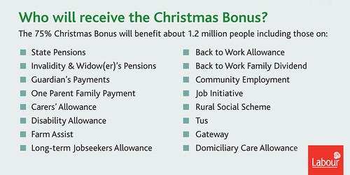 TWITTER Christmas bonus recipients copy