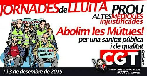 abolim les mútues ! per una sanitat pública i de qualitat
