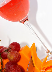 Theme: Food (Wine, Grapes and Cheese)
