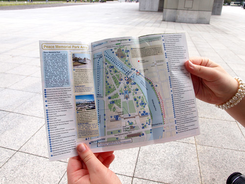 Peace Memorial Park Map