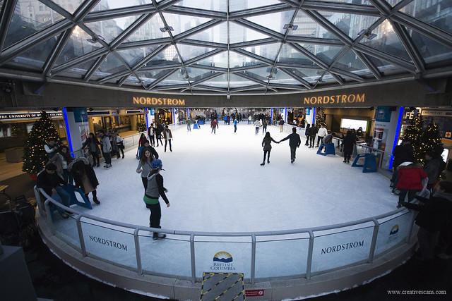 Robson Square Skating Rink