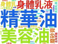 WordCloud:保養油