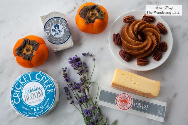 Cricket Creek Farm cheeses