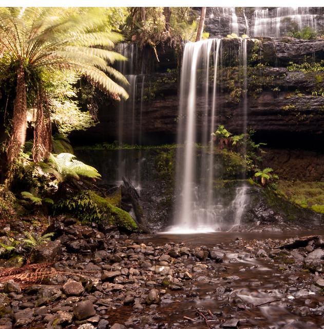 Russell Falls, Nikon D80, Sigma 10-20mm F4-5.6 EX DC HSM
