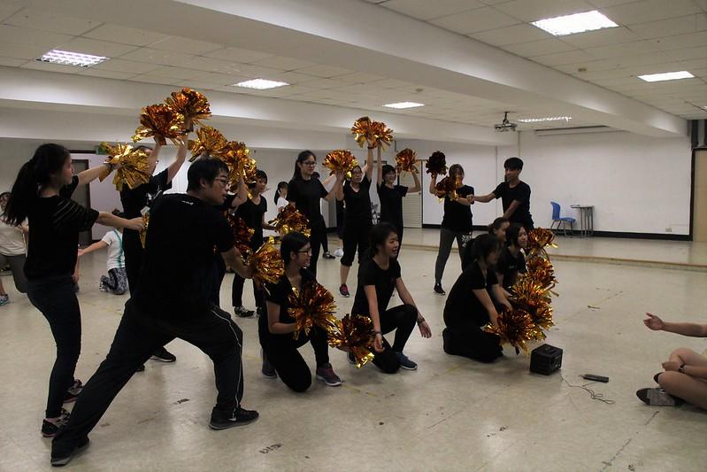 人發啦啦今年融入現代舞, 希望讓觀眾看到帥氣的一面。圖/人發系提供