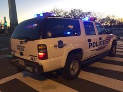 DC Police Suburban