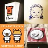 Cute logos I found in Tokyo:heart_eyes: #tokyo #japan #brand #logo #radiostation #identity #design #milk #coffeeshop #service #supermarket #product #service #shinjuku #animal #duck #nippori #frogdog #shibuya #girl #cute #kawaii