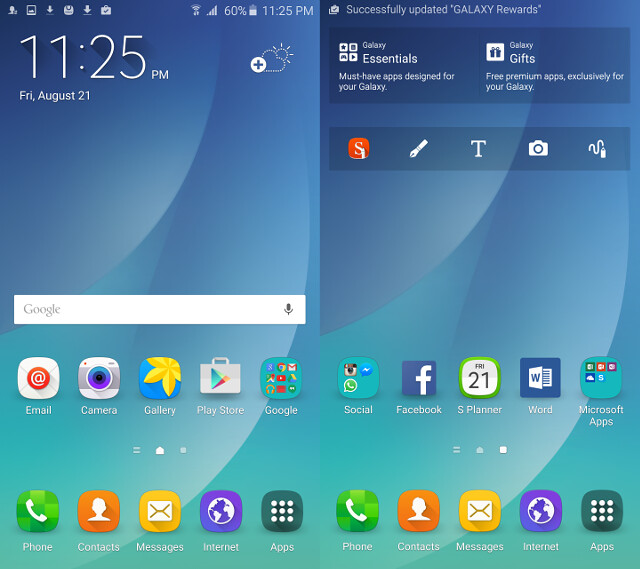 Galaxy Note 5 Software