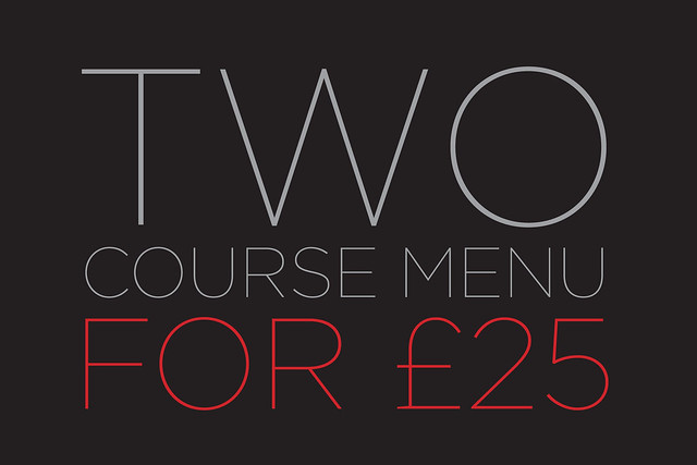 Two Courses for £25, Amphitheatre Restaurant offer © ROH.2015