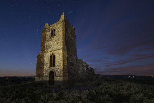 church night stars prime ruin astro burrowmump somersetlevels burrowbridge 5d3 samyang14mm 5diii august2015canon