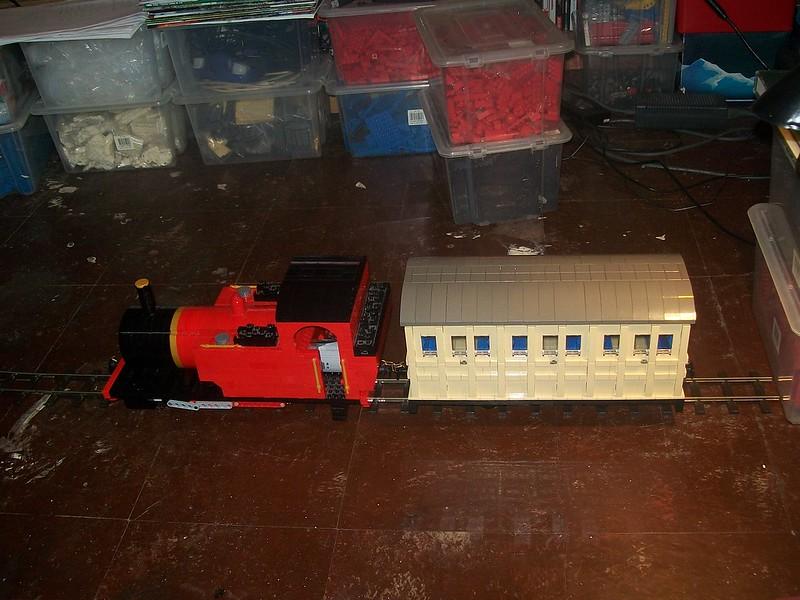 16mm Scale Lego 4 Wheel Coach - LEGO Train Tech - Eurobricks