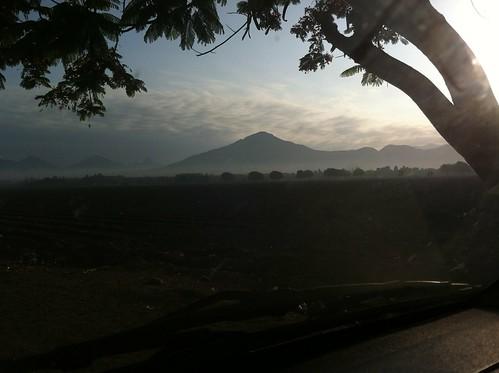 peru sunrise landscape dawn
