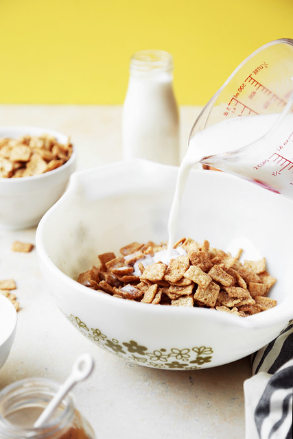 Cinnamon toast milk ice cream the candid appetite pour the milk over the cereal and let sit for at least 30 minutes ccuart Choice Image
