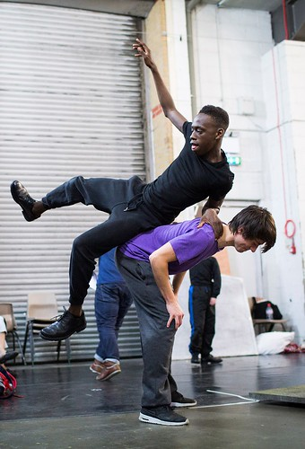 Lord of the Flies rehearsals
