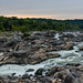 Great Falls in the evening