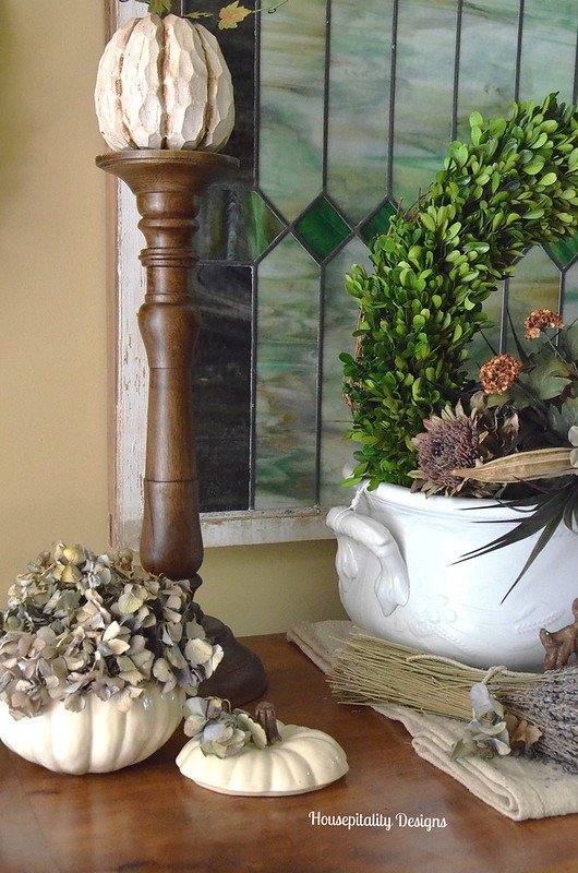 French Buffet Fall Vignette - Housepitality Designs