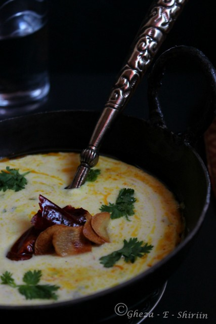 Tempered Curd/Bhagara Dahi