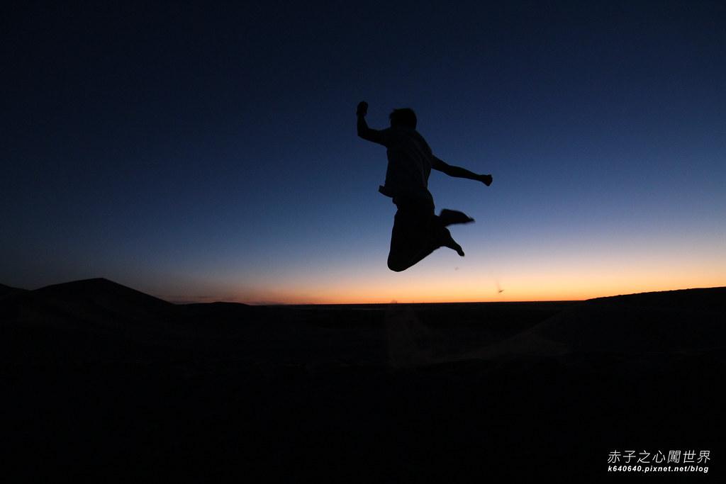 絲路-敦煌鳴沙山月牙泉-沙漠露營19