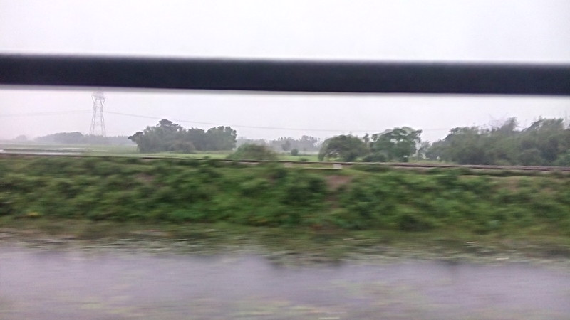 Journey to #guwahati #train #rain #assam #welcome