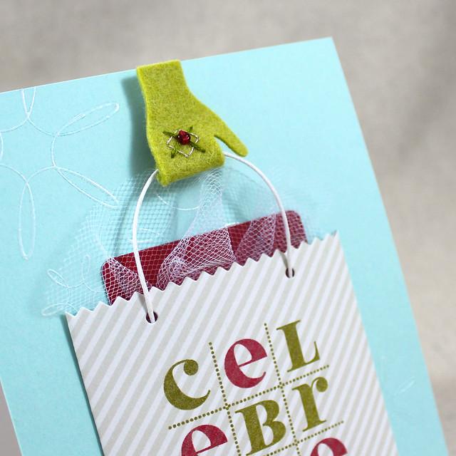 Celebrate Mitten Close Up