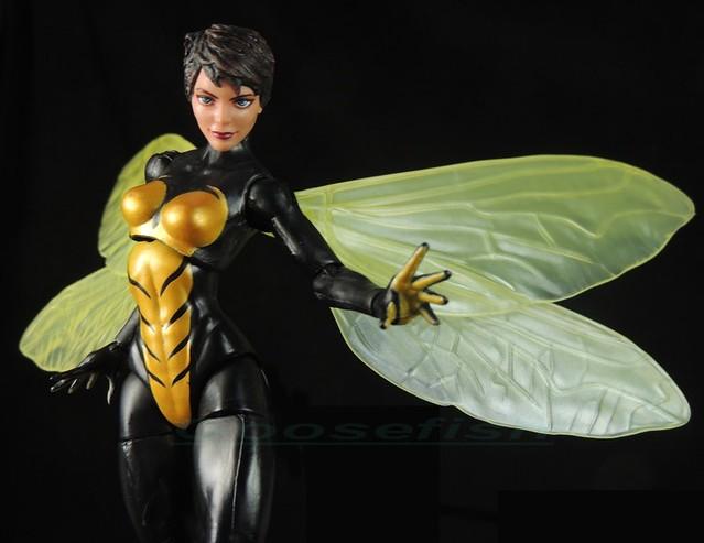 【玩具人Goosefish投稿】HASBRO MARVEL LEGENDS 6吋黃蜂女 WASP 塗裝改造