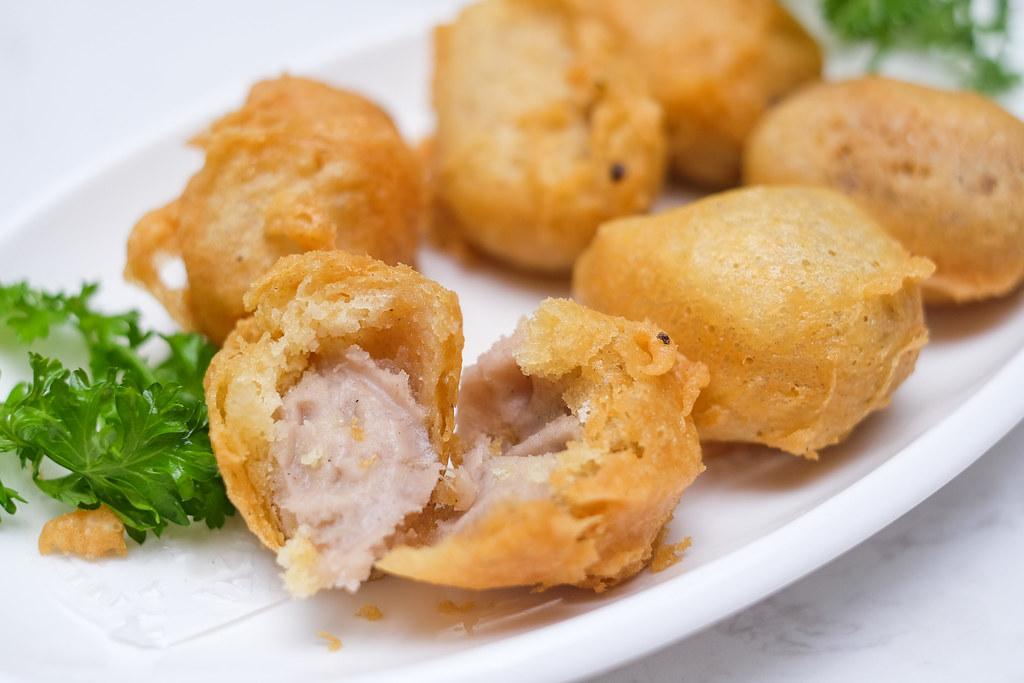 ChaoZhou Porridge: Crisp-fried Taro Rolls