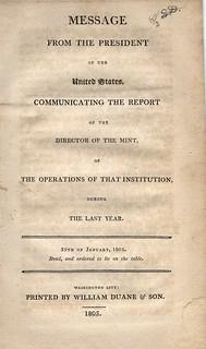 1804 Mint Report