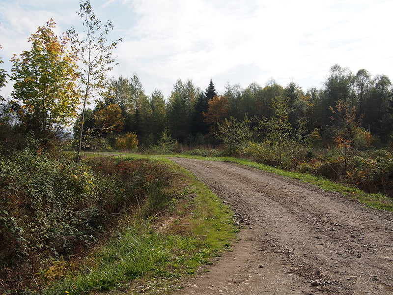 Riding Into Private Property: I ended up on Palmer Coking Coal Company property and had to turn back because I didn't want to get into trouble.