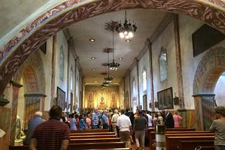 Santa Barbara - Santa Barbara Mission mass