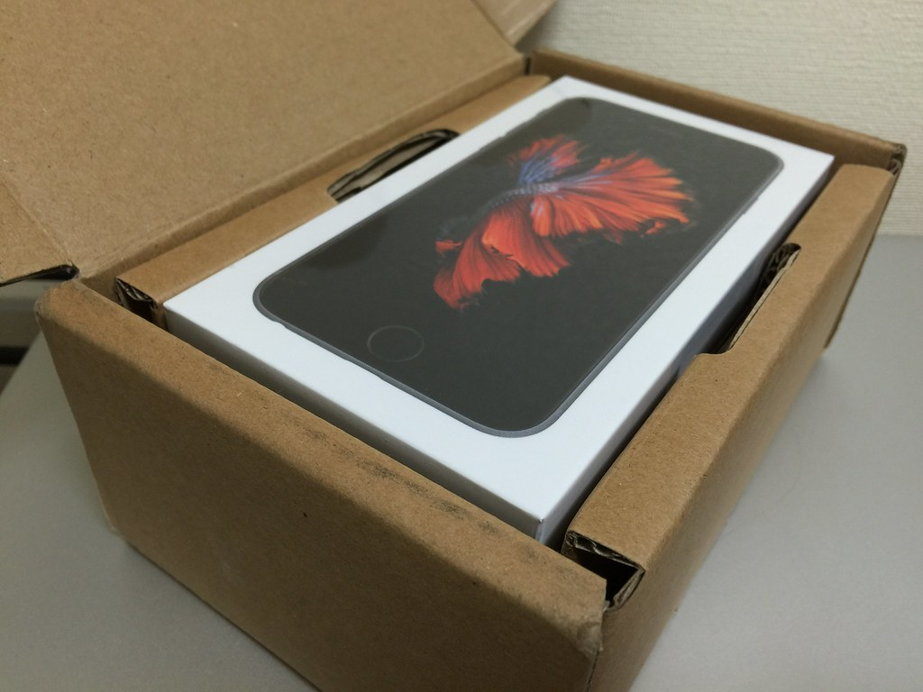 iPhone 6s Unboxing