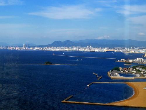 Fukuoka Tower/Momochi Beach, Fukuoka, Japan