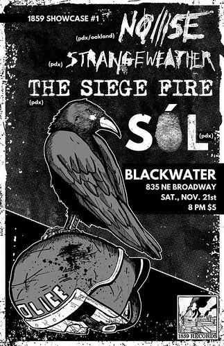 11/21/15 Noiiise/Strangeweather/TheSiegeFire/Sol