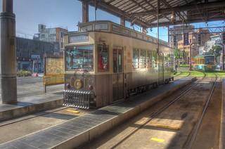 Tramcars at Kagoshima on OCT 24 (21)