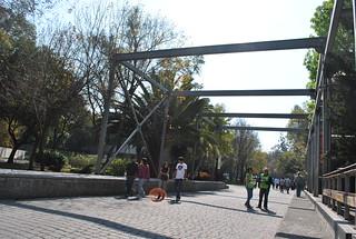 Acceso al Bosque de Chapultepec