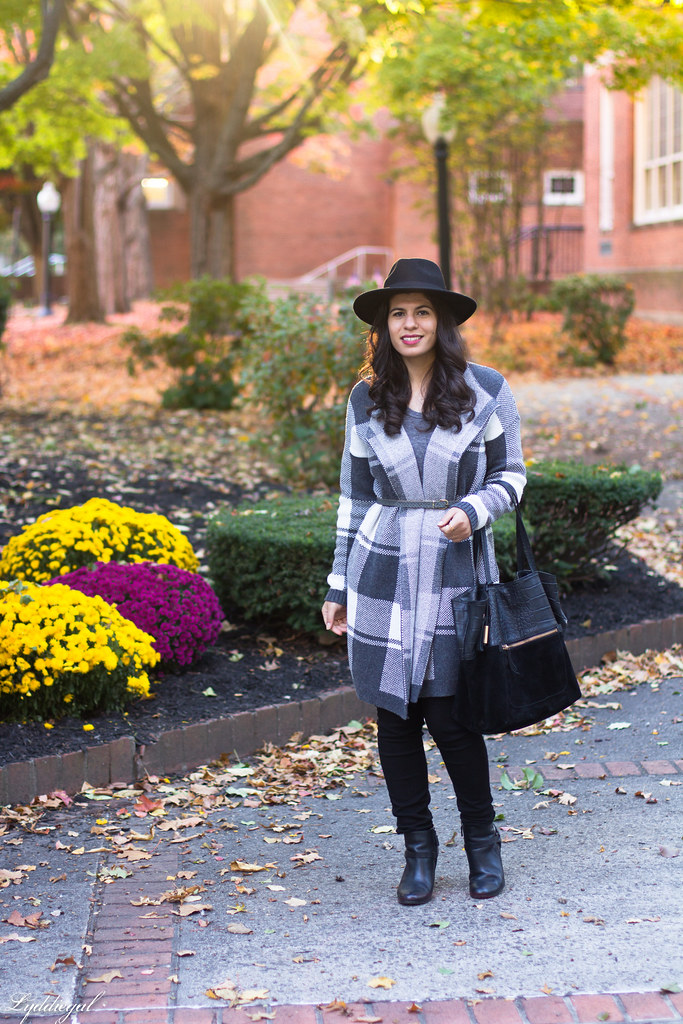 grey plaid coatagain, black pants, wool hat-1.jpg