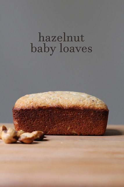 hazelnut baby loaves