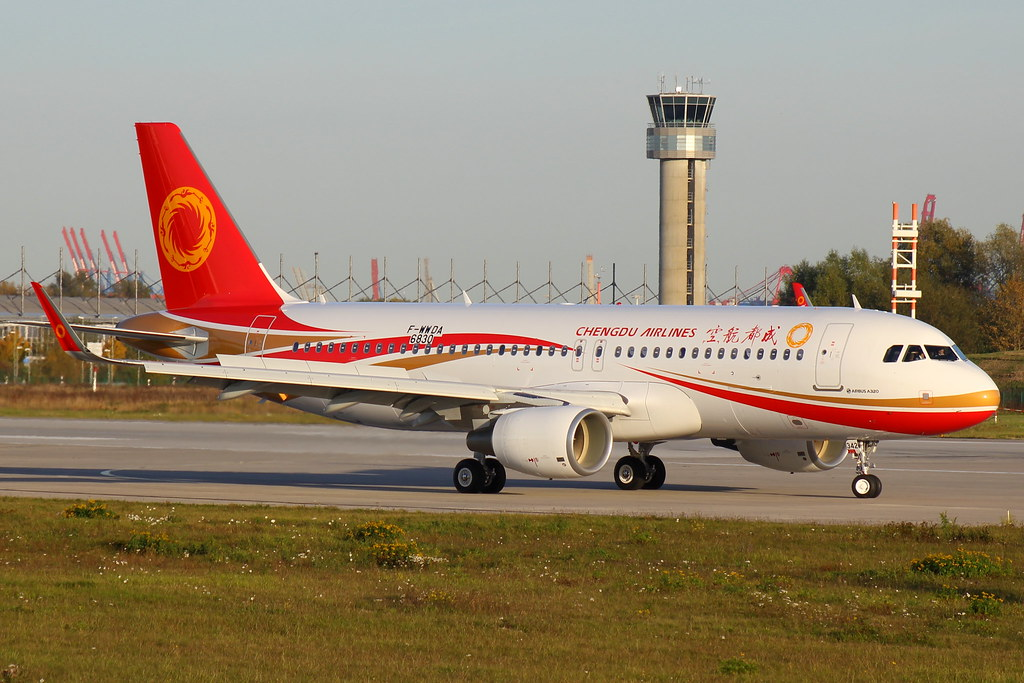 B-8342 - A320 - Chengdu Airlines