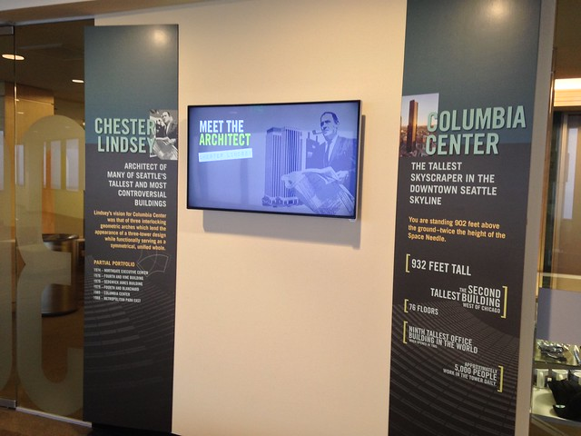 Inside Columbia Center