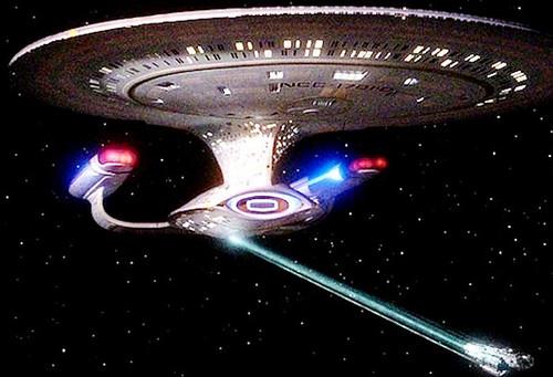 Rayo tractor de la USS Enterprise