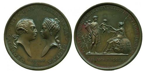 George Prince of Wales Medal 1792