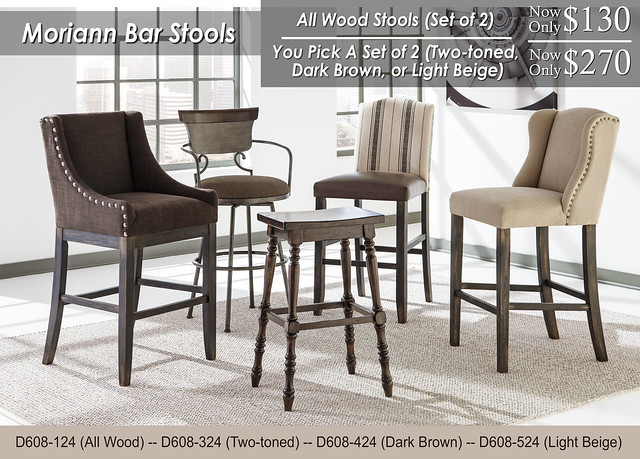 Morian Bar Stools Options