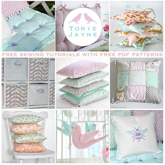 Torie Jayne Free Sewing Tutorials