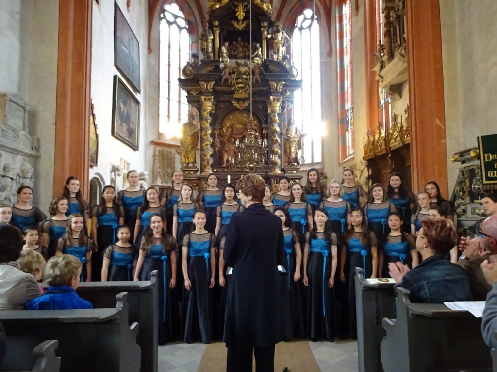 Young Women's Chorus of San Francisco 2015 Concert Tour of Germany