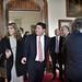 Fabián Picardo llega al Convento para jurar su cargo como Ministro Principal