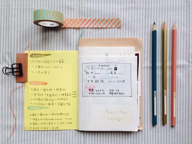 嘉義旅行手帳