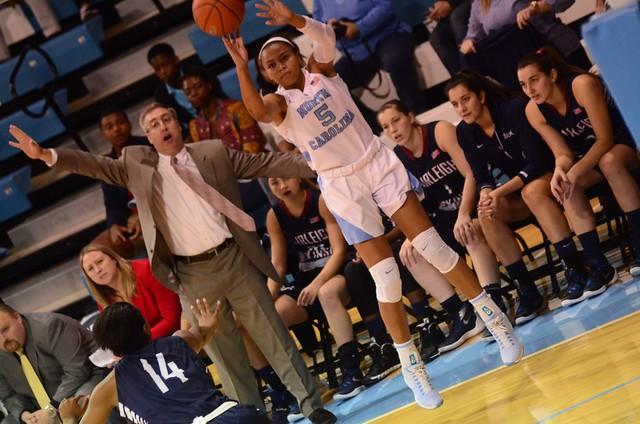 basketball: fairleigh dickinson @ unc