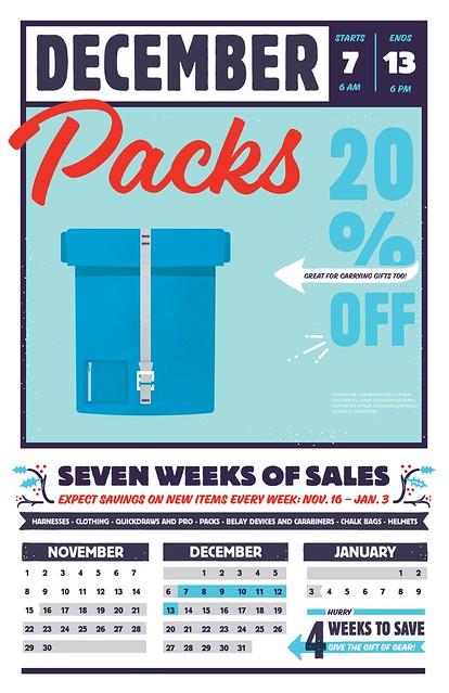 Packs Sale