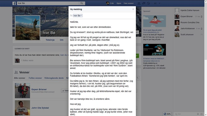 mer fra facebook bø