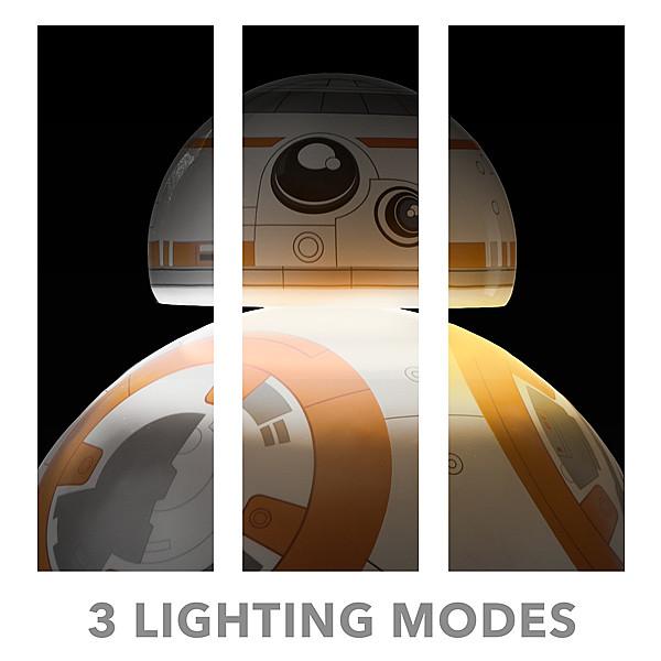 ThinkGeek【星際大戰:高智能桌燈】可三段式調節 BB-8 Desktop Lamp