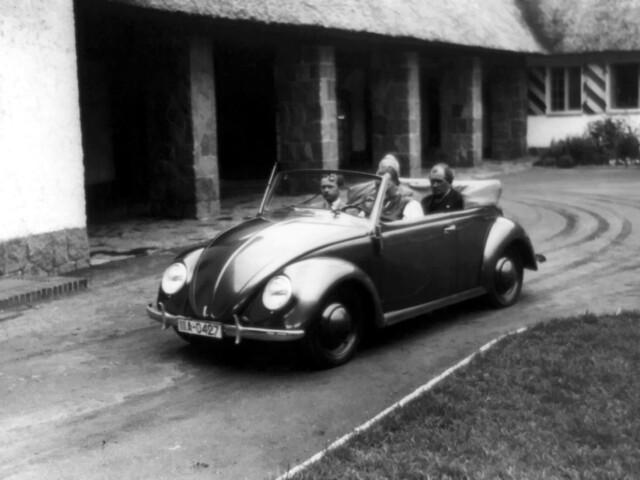 Volkswagen Käfer Cabriolet. 1939 год